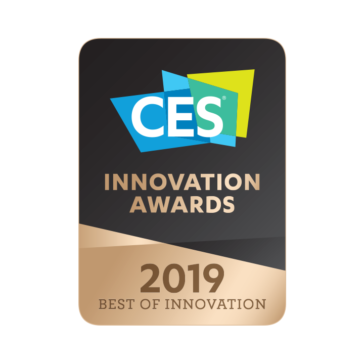 <strong>Awarded</strong> <em>Best Innovation</em> at CES 2019