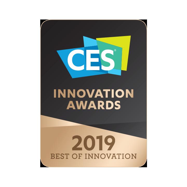 <strong>Awarded</strong> <em>Best Innovation</em> at CES 2019